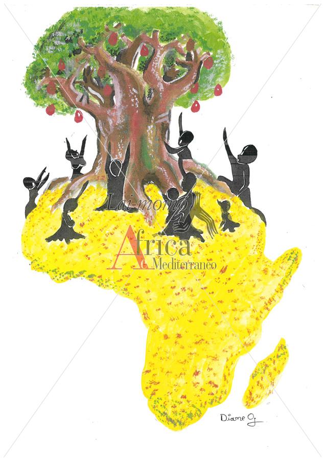 Dessin De L Afrique Africa Comics